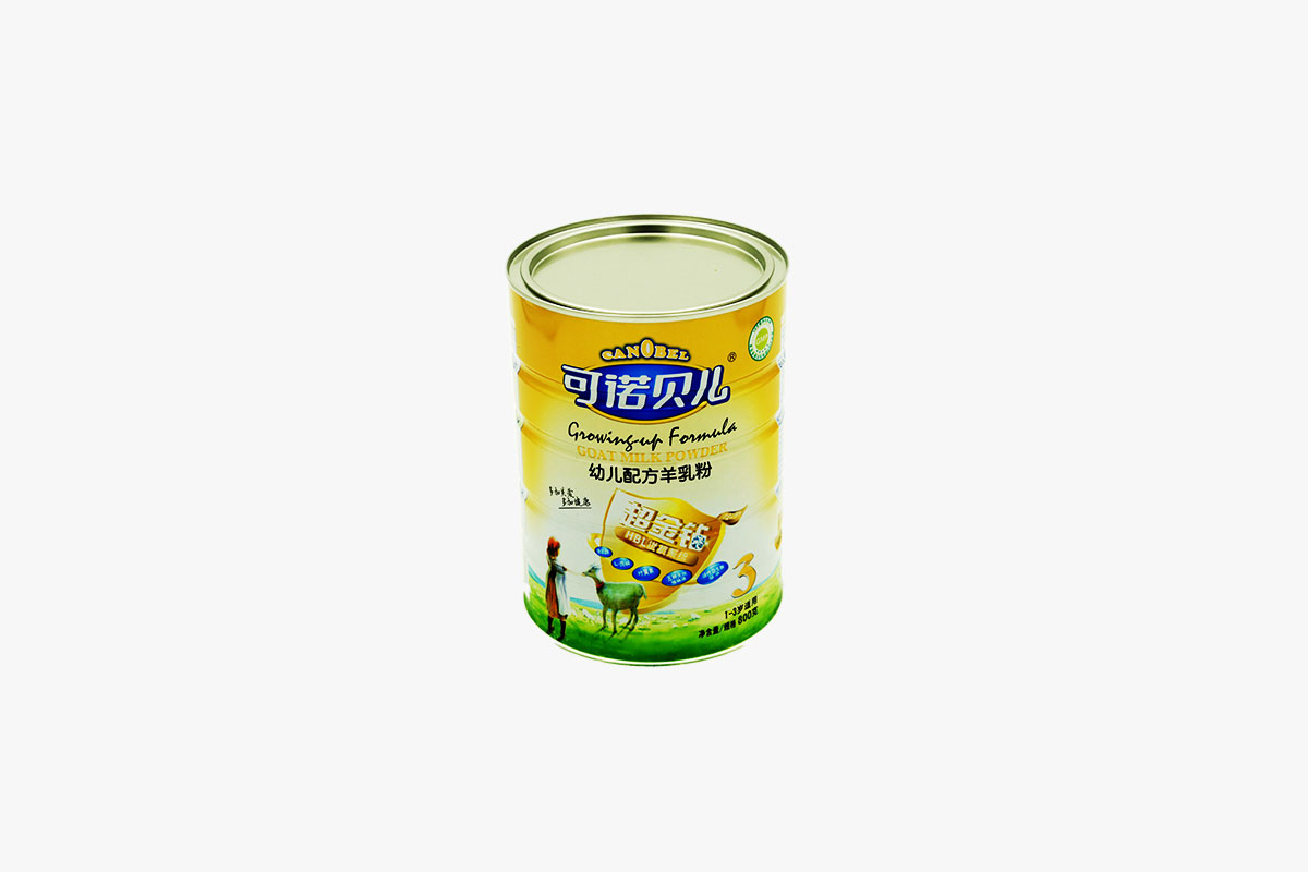 What are the properties of metal packaging food cans?